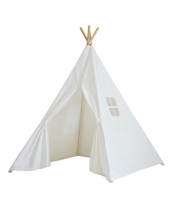 kinder tipi wit 100 katoen. Black Bedroom Furniture Sets. Home Design Ideas